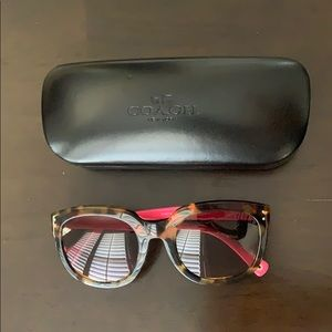 Coach Sunglasses Tortoise and Pink